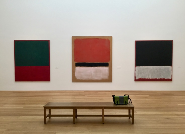 Three Rothkos at the National Gallery of Art