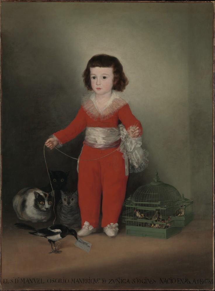 Red Boy -- Goya